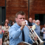 Trimdon Concert Band. Photo credit: Alison Lister