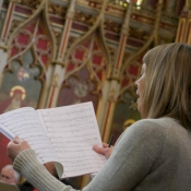 The Durham Hymns: Rehearsal Photos